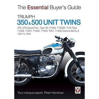Triumph 350 & 500 Twins by Peter Henshaw - 9781845847555 Book