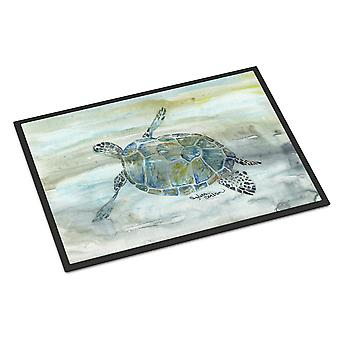 Sea Turtle Watercolor Indoor or Outdoor Mat 24x36