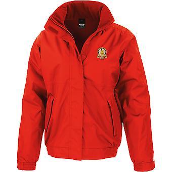 14. konger Hussars-licenseret British Army broderet vandtæt jakke med fleece indre