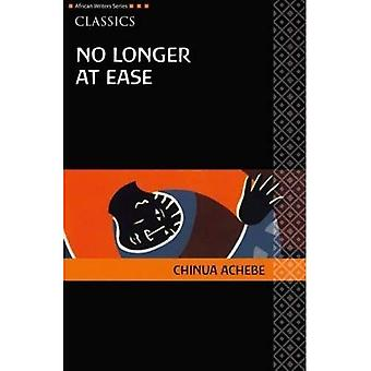 No Longer at Ease (African Writers Series)