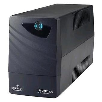 Emerson network power li32101ct00 ups for datacenter 240w 400va full load duration in blackout 5min black color