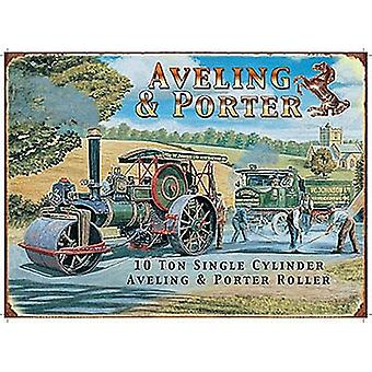 Aveling And Porter small metal sign   (og 2015)