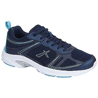 Ladies Womens Trainers Lightweight Lace Up Memory Foam Shoes