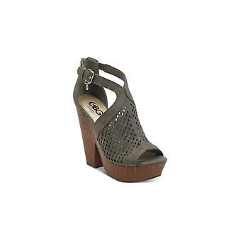 G by Guess Womens Shelli Peep Toe Casual Platform Sandals