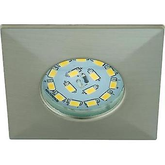 LED bathroom flush mount light 5 W Warm white Briloner 7205-012 Nickel (matt)