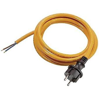 Current Cable [ PG plug - Cable, open-ended] Orange 3 m as - Schwabe 70914
