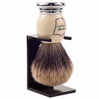 Parker WHPB Ivory Luxury Best Badger Hair Shaving Brush