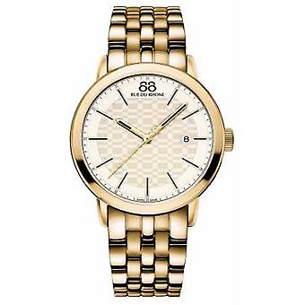 88 rue du Rhône Double 8 origine Mens Gold Watch 87WA154203