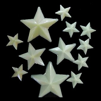 Wall decals night bright star fluorescent lamps stickers stickers removable