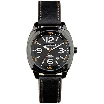 Bruno Banani watch wristwatch of Ketos leather analog BR30019