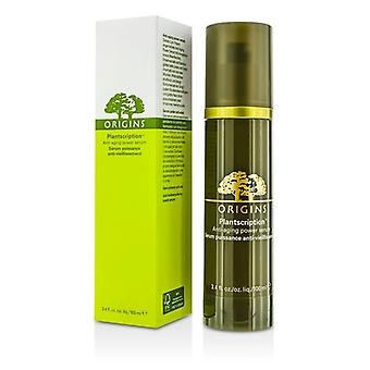 Ursprung Plantscription Power Anti Aging Serum 100 ml / 3.4 oz