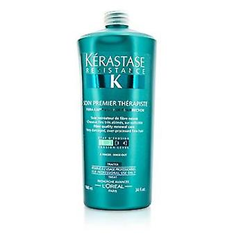 Kerastase Resistance Soin Premier Therapiste Fiber Quality Renewal Care (For Very Damaged Over-Porcessed Fine Hair) - 1000ml/34oz
