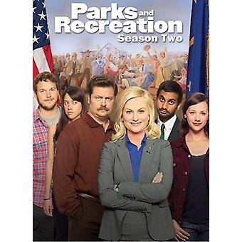 Parks & Recreation - Parks and Recreation: Season Two [4 Discs] [DVD] USA import
