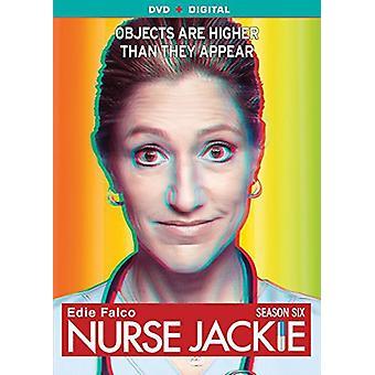 Nurse Jackie Season 6 [DVD] USA import