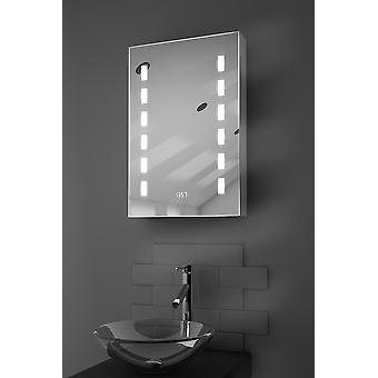 Delphia klokke LED kabinett med Demister Pad, Sensor & barbermaskinen k385