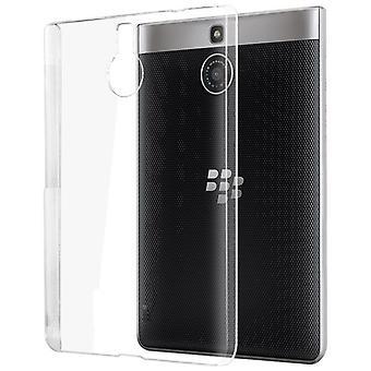 InventCase TPU Gel fall täcka huden med skärmskydd för BlackBerry Passport Silver Edition 2015 - Transparent / klar