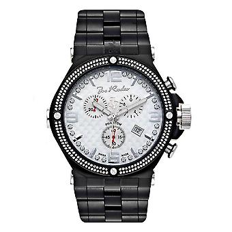 Joe Rodeo diamond men's watch - PHANTOM Black 2.25 ctw