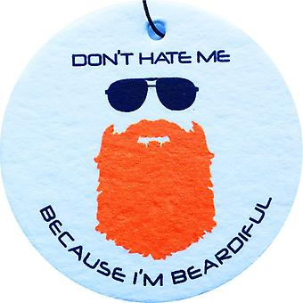 Beardiful - Ginger Car Air Freshener