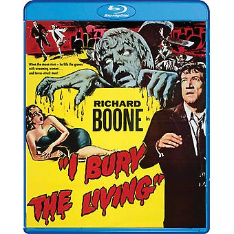 I Bury the Living [Blu-ray] USA import