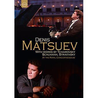 Denis Matsuev - Denis Matsuev: Klaver betragtning på Royal Concertgebouw [DVD] USA importen