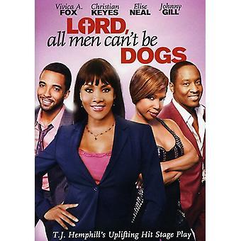 Herren alle mænd Can't være hunde [DVD] USA importerer