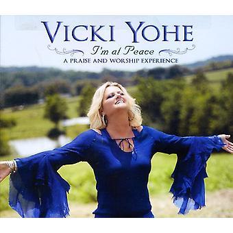 Vicki Yohe - estoy en paz: importación de Estados Unidos A alabanza y adoración Exper [CD]