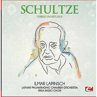 Schultze - Three Overtures [CD] USA import
