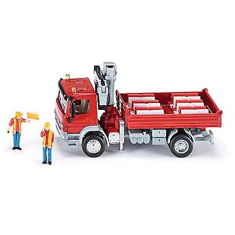 Siku Mercedes Atego With Crane  (Toys , Vehicles And Tracks , Mini Vehicles , Trucks)