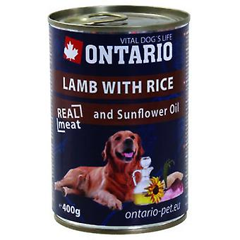 Ontario Dog Lamb/Rice/Sunflower Oil (Hunde , Hundefutter , Nassfutter)