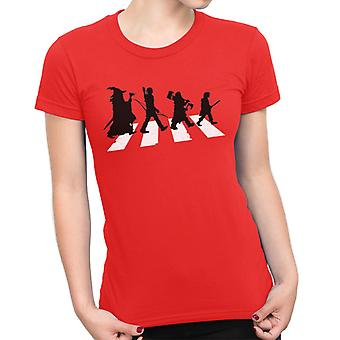 The Hobbit On Abbey Road Women's T-Shirt