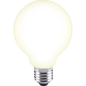 LED E27 Globe 12 W = 88 W Warm white (Ø x L) 80 mm x 115 mm EEC: A++ Sygonix Filament 1 pc(s)