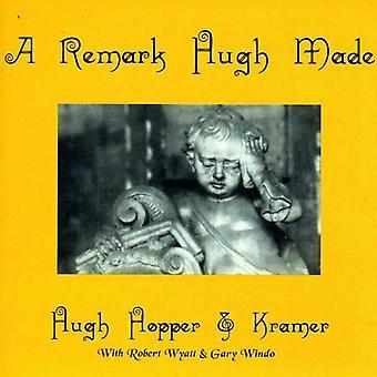 Hopper/Kramer - bemærkning Hugh Made/kæmpe [CD] USA import