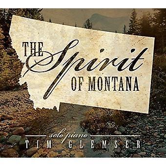 Tim Glemser - ånd av Montana [DVD] USA import