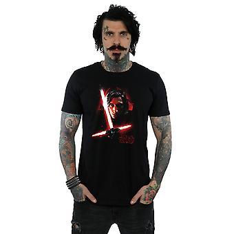 Star Wars Men's The Last Jedi Kylo Ren Brushed T-Shirt