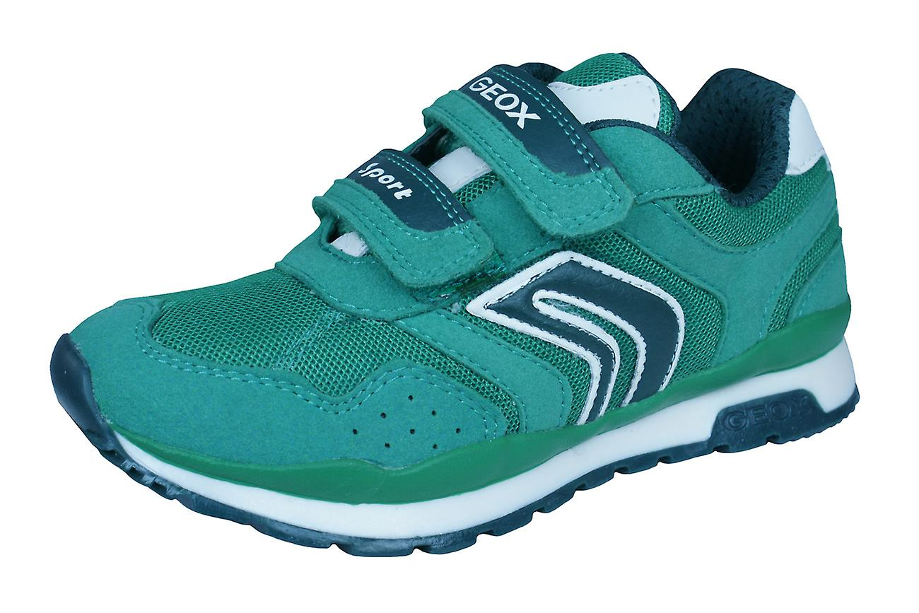 Geox J Pavel A Boys Trainers / Shoes - Green