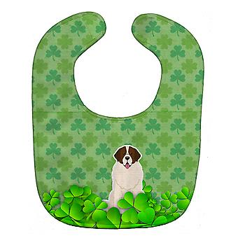 Carolines Treasures  BB6168BIB Moscow Watchdog Shamrocks Baby Bib