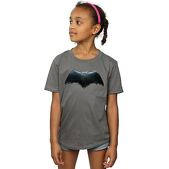 DC Comics Girls Justice League Movie Batman Emblem T-Shirt