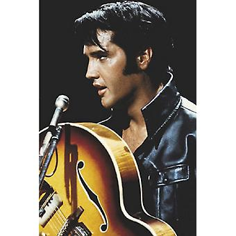 Elvis rey del Rock and Roll Poster Print (24 x 36)