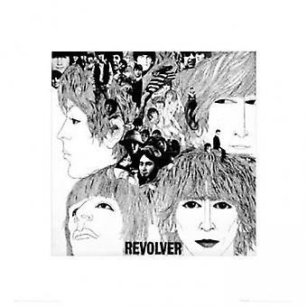 Beatles - Revolver-Poster-Plakat-Druck