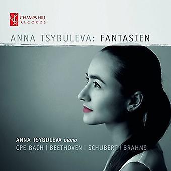 Bach, C.P.E. / Tsybuleva - Anna Tsybuleva: Fantasien [CD] USA import