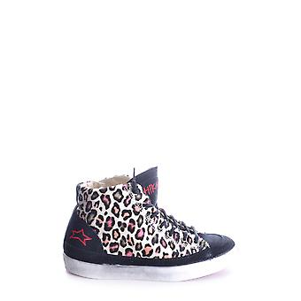 Ishikawa ladies MCBI156017O multicolour fabric Hi Top sneakers