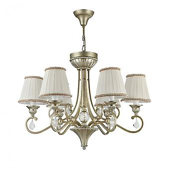 Maytoni Lighting Valbonne House Collection Chandelier , Silver + Gold