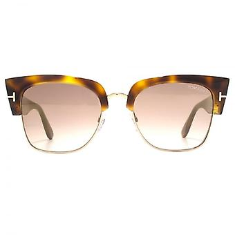 Tom Ford Dakota-02 Sunglasses In Blonde Havana