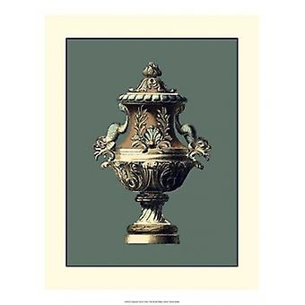 Classical Urn II Poster Print by Vision studio (15 x 19)