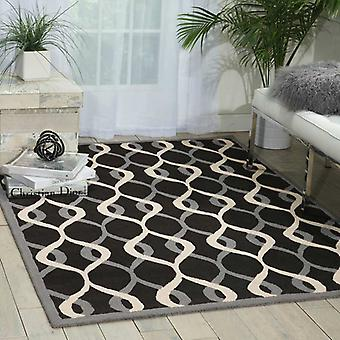 Rugs - Decor DER04 - Black & Grey