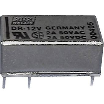 PCB relays 24 Vdc 1 A 1 change-over Panasonic DR24