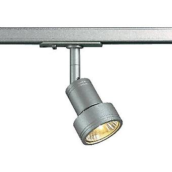 High voltage mounting rail light 1-phase GU10 50 W HV halogen
