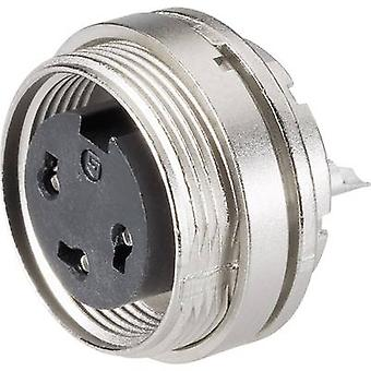 Binder 09-0312-80-04 Series 682 Miniature Circular Connector Nominal current (details): 6 A Number of pins: 4
