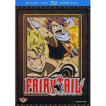 Fairy Tail: Teil 4 [4 DVDs] [Blu-Ray/Dvd] [BLU-RAY] USA Import