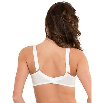 LingaDore 1343-1 Women's Lisette White Non-Padded Underwired Full Cup Bra